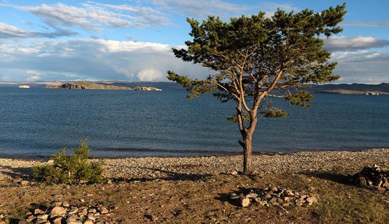 Лесной пожар подобрался к поселку на острове на Байкале, где отдыхает множество туристов