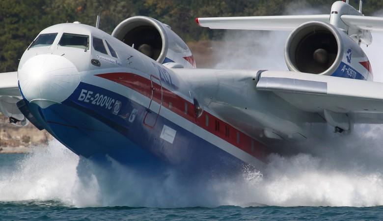 В Томске для пилотов БЕ-200 МЧС создали авиатренажер, имитирующий тушение лесных пожаров