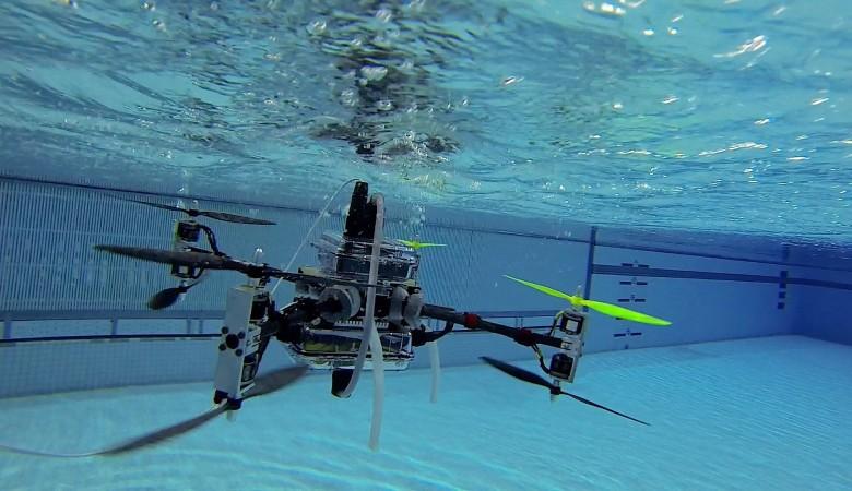 Томские ученые создали «гражданский» беспилотник для изучения озер