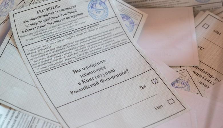 Хакасия лидировала по количеству одобрительных голосов по поправкам в Конституцию
