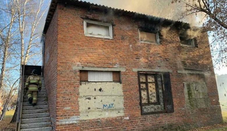 Школьник поджег здание на территории школы №40 в Ангарске