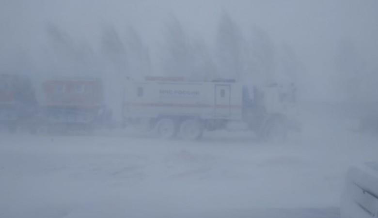 25 сел Алтайского края остались без транспортного сообщения из-за метели