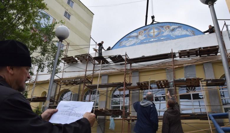 В Абакане начали строить православный центр, который займется духовным просвещением людей