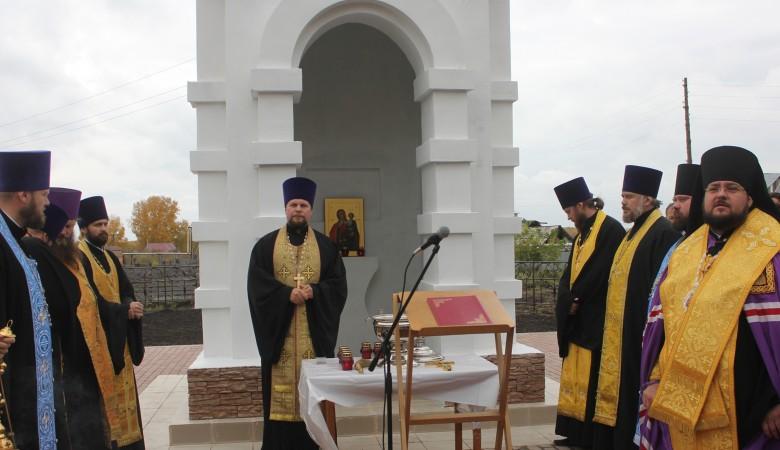 В кузбасском поселке возвели часовню в память о детях, погибших при пожаре «Зимней вишне»
