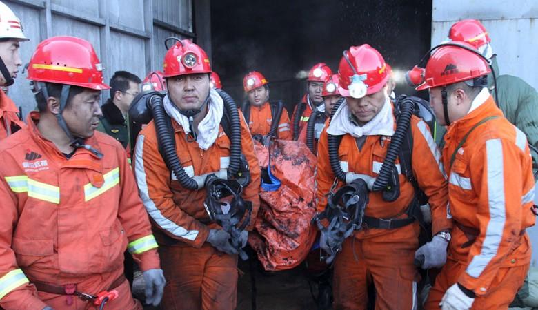 В «Поднебесной» девять человек погибли из-за взрыва газа нашахте