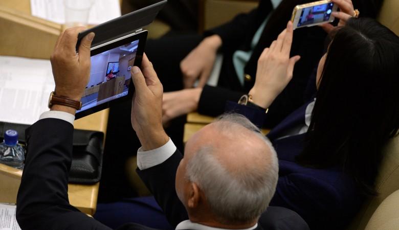 Российских чиновников обяжут сообщать о своих страницах в соцсетях