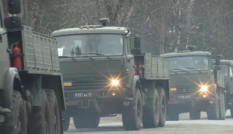 В Новосибирскую область отправилась группировка военных медиков, инженеров и химиков