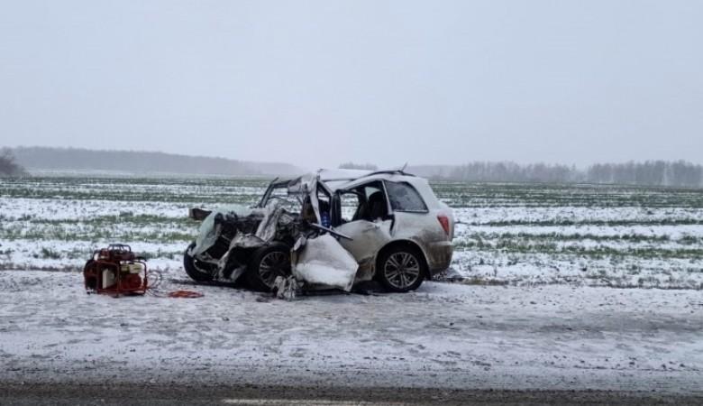 Отец и сын погибли в ДТП с грузовиком на автодороге Тюмень – Омск