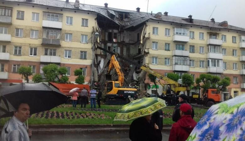 Строители, работавшие в обрушившемся доме в Междуреченске, арестованы