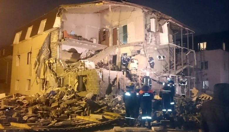 Власти решились снести разрушенный взрывом газа дом в Красноярске