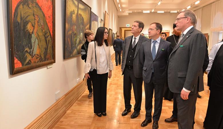 В Омске открыли представительство Эрмитажа