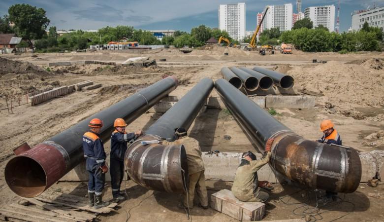СГК достроит теплотрассу над станцией метро в Новосибирске в 2020 году