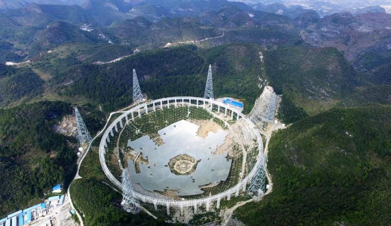 В Китае скончался главный инженер крупнейшего в мире телескопа FAST