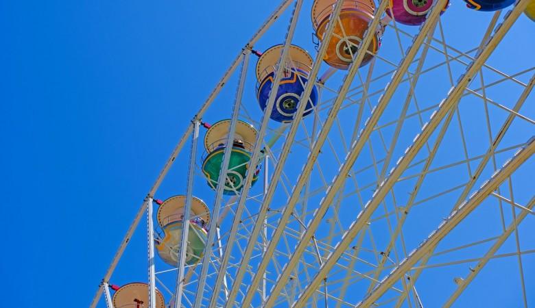 В Новосибирске колесо обозрения на набережной продают за 20 млн руб