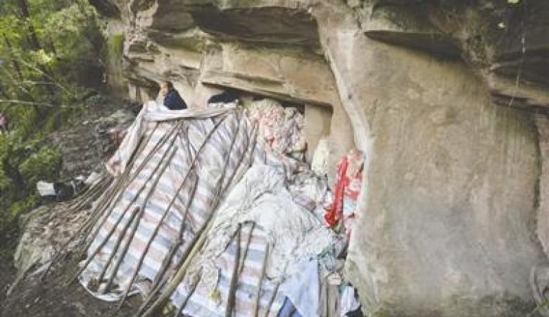 Полвека супруги прожили впещере