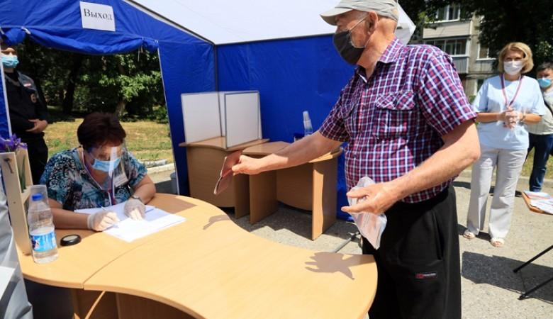В Алтайском крае по поправкам проголосовали более 11% избирателей