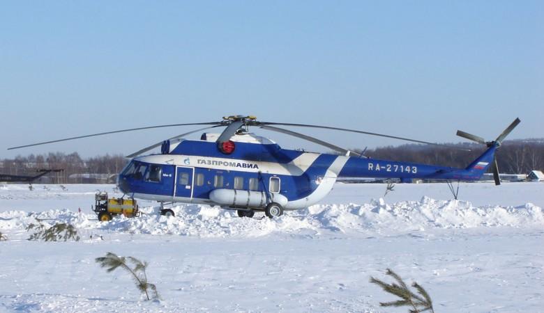 Вертолет Ми-8 совершил экстренную посадку вТомской области