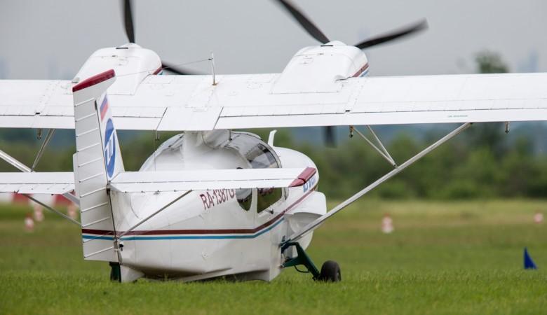 Гидросамолет под управлением директора авиакомпании перевернулся при взлете насевере Красноярского края