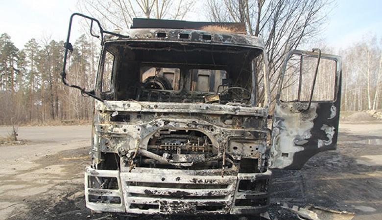 Кемеровчанка подожгла грузовик, чтобы согреться