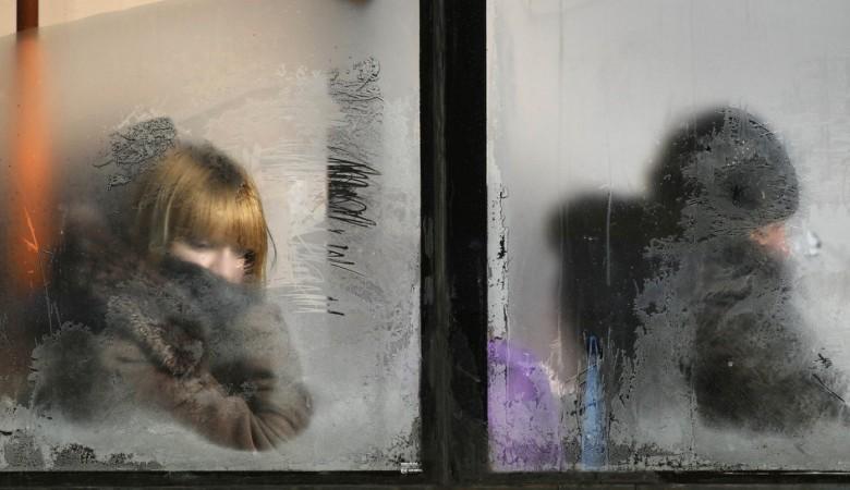 Военная автоинспекция поставила в Сибири посты для помощи водителям в сильные морозы