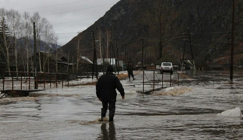 Паводок на Алтае по масштабам местами превосходит тридцатилетний максимум