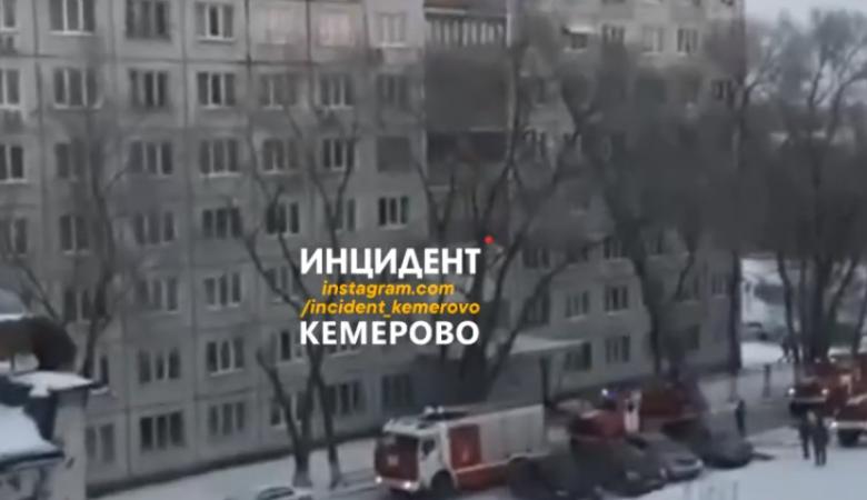 Десятки человек были эвакуированы из загоревшегося общежития в Кемерове