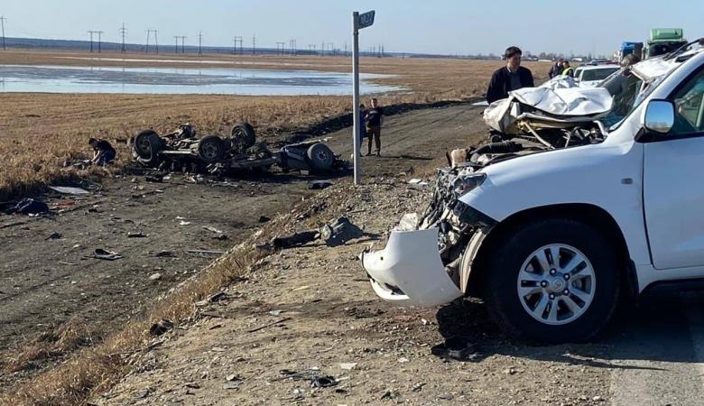 Мужчина погиб в результате столкновения трех «Тойот» в Иркутской области