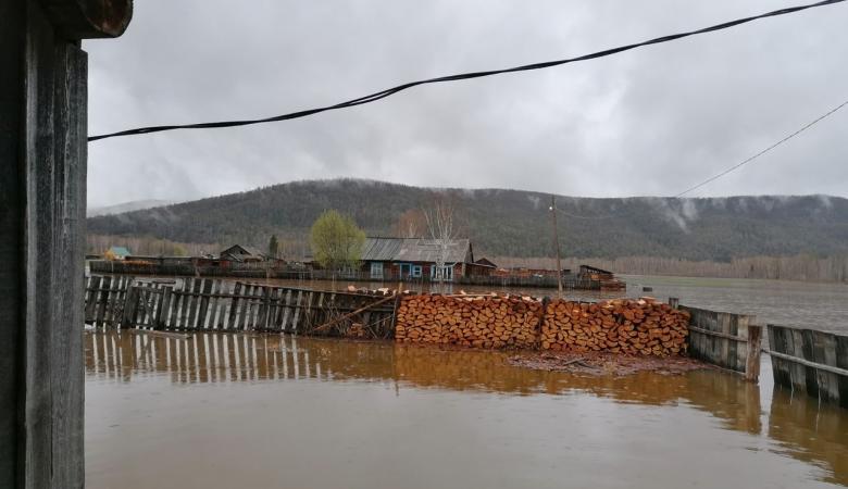 В Туве введен режим ЧС из-за подтоплений в результате сильных дождей