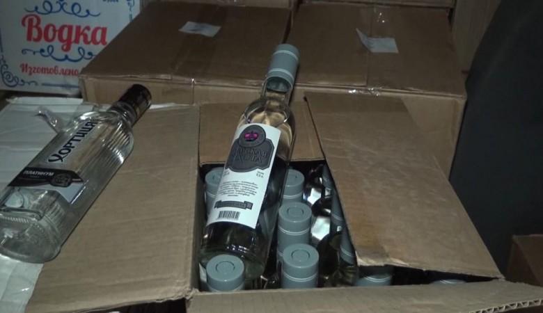 Тувинские полицейские изъяли более двух тонн контрафактного алкоголя