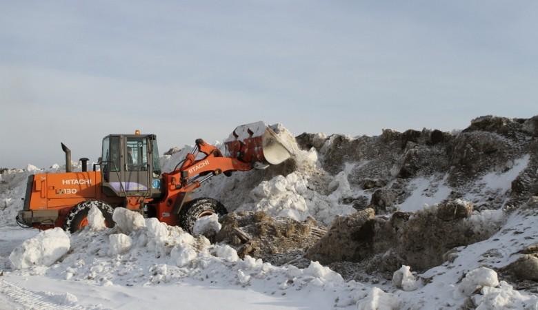 ВКемерове снежная стена оградит часть Заводского района отталых вод