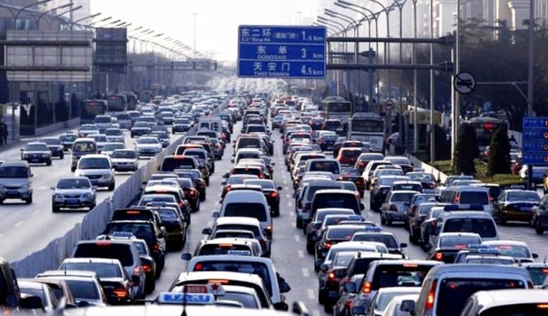 Количество автомобилей в Китае достигло 200 млн единиц