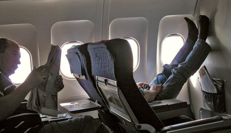 Житель Красноярска пригрозил взорвать самолет из-за отказа пересадить его в бизнес-класс