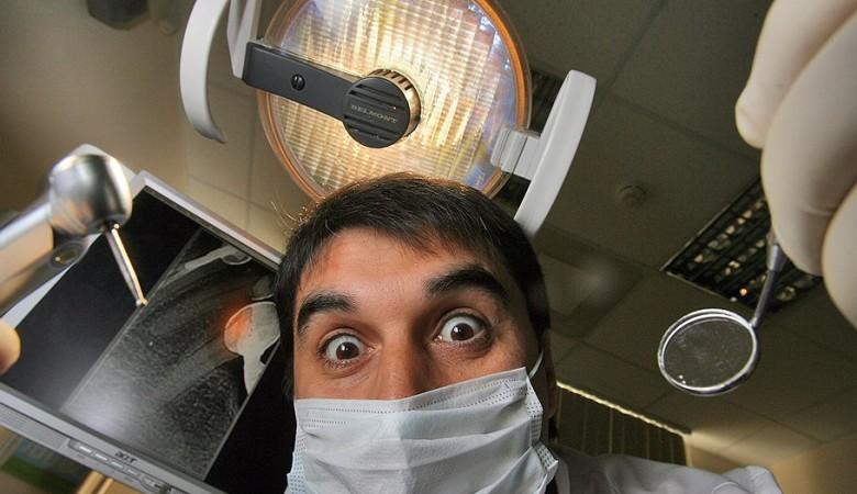 Омичка загорелась на приеме у стоматолога