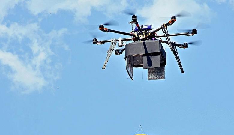 ВТомске пресекли доставку вколонию мобильника квадрокоптером