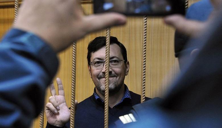 Следствие ходатайствует об аресте националиста Поткина, который должен выйти на свободу 16 апреля
