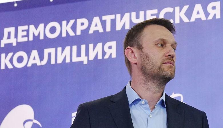 НОД опроверг свою причастность к забрасыванию Навального яйцами