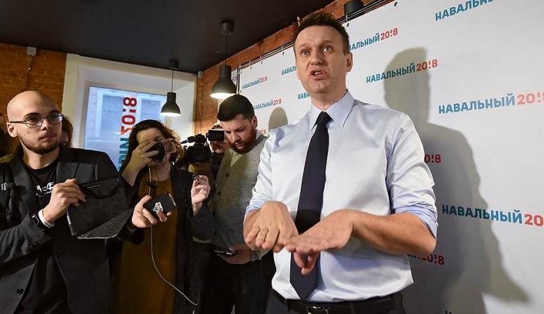 Предвыборный штаб Навального откроется вНовосибирске 18февраля