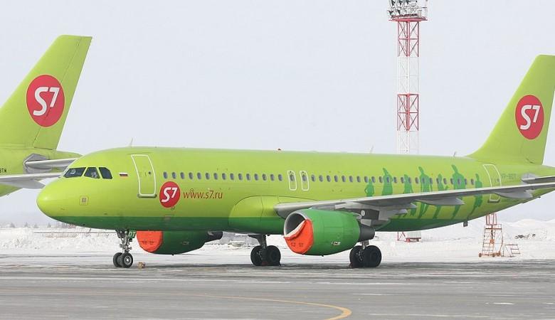 S7 Airlines повторно сообщила овыполнении 6-ти рейсов внеделю изНорильска