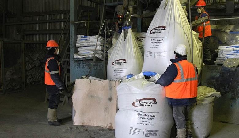 «Сибирский цемент» в 2016 году снизил производство цемента на 19%