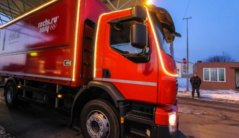 В Красноярском крае столкнулись грузовики Coca Cola и Pepsi