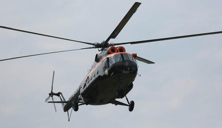 Спасатели Алтая обнаружили предполагаемое место падения вертолета Robinson R-66