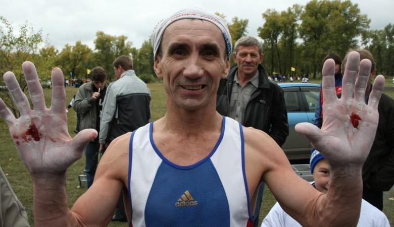 Красноярец установил мировой рекорд по подтягиваниям - 7 345 раз