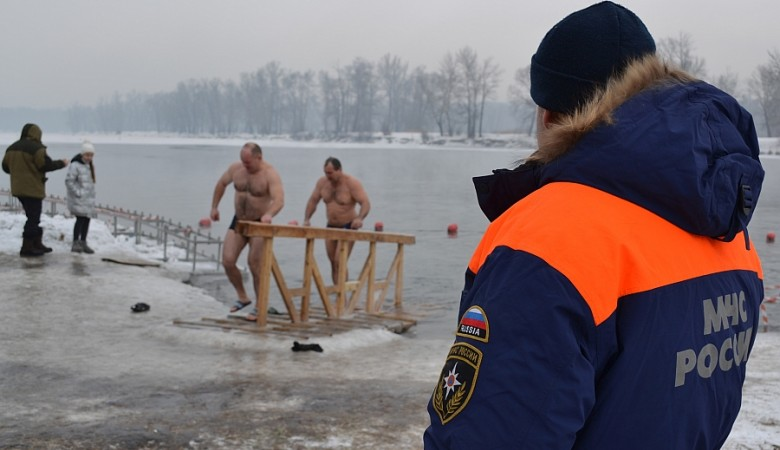 В Хакасии разрешили крещенские купания, несмотря на сложную ситуацию с COVID-19