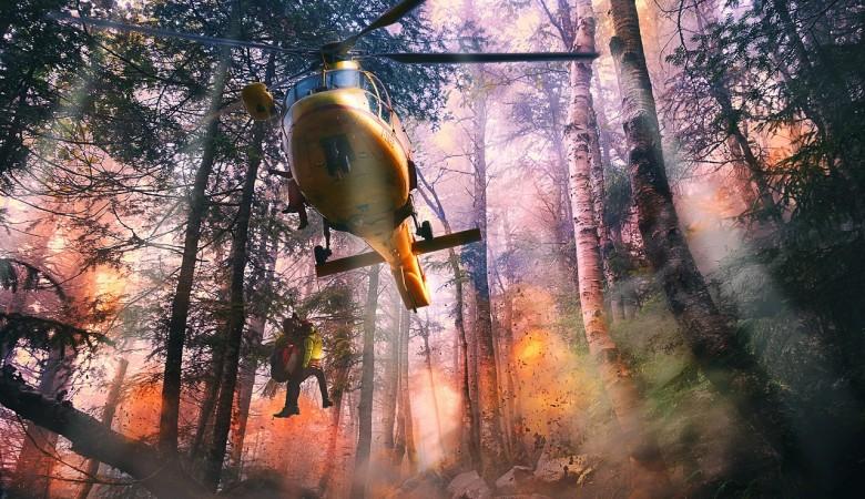 Последний лесной пожар потушили в Иркутской области