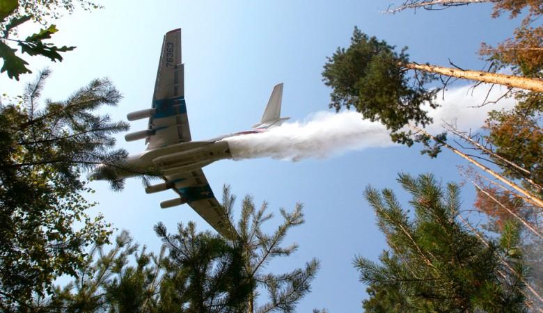В Иркутской области продолжает гореть 1,5 тыс. га леса