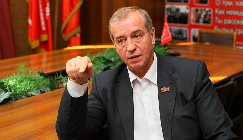 Фургон компромата наиркутского губернатора попал влобовое ДТП