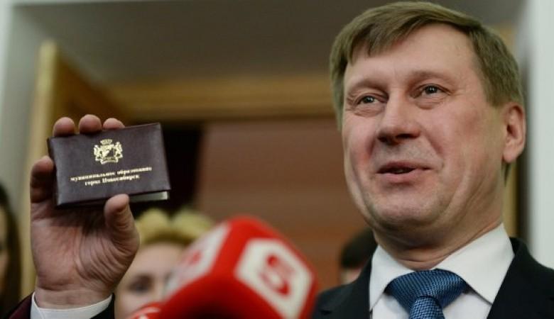 Мэр Новосибирска Локоть стал десятым претендентом на пост главы города