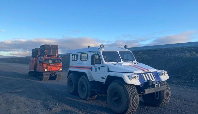 Ветер затрудняет работы по ликвидации ЧС в Норильске