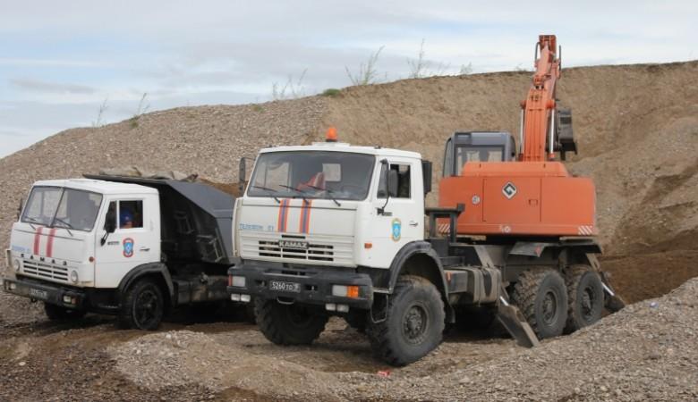 Наливные дамбы для защиты сел от подтопления будут доставлены в Алтайский край