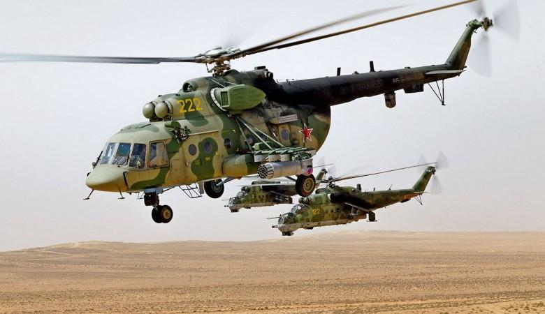 Улан-Удэнский авиазавод провел обслуживание вернувшихся из Сирии вертолетов